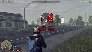 How to switch weapons in H1Z1 ps4