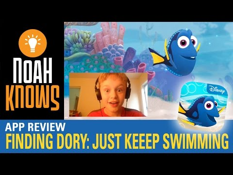 Finding Dory: Just Keep Swimming App Review / Mobile Gameplay