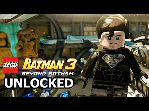 LEGO Batman 3: Beyond Gotham - How to Unlock Solar Suit Superman