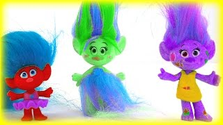 Dreamworks Trolls Color Mix-up Toys Game for Kids Children & Toddlers