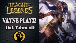 Vayne Playz :) Dat tahm xD │LoL │Normal Game │Alt Koridor │