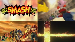 Evolution of Super Smash Bros. Intros