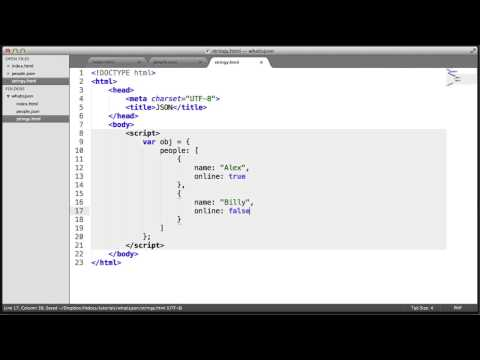What is JSON? Stringify (Part 4/4)