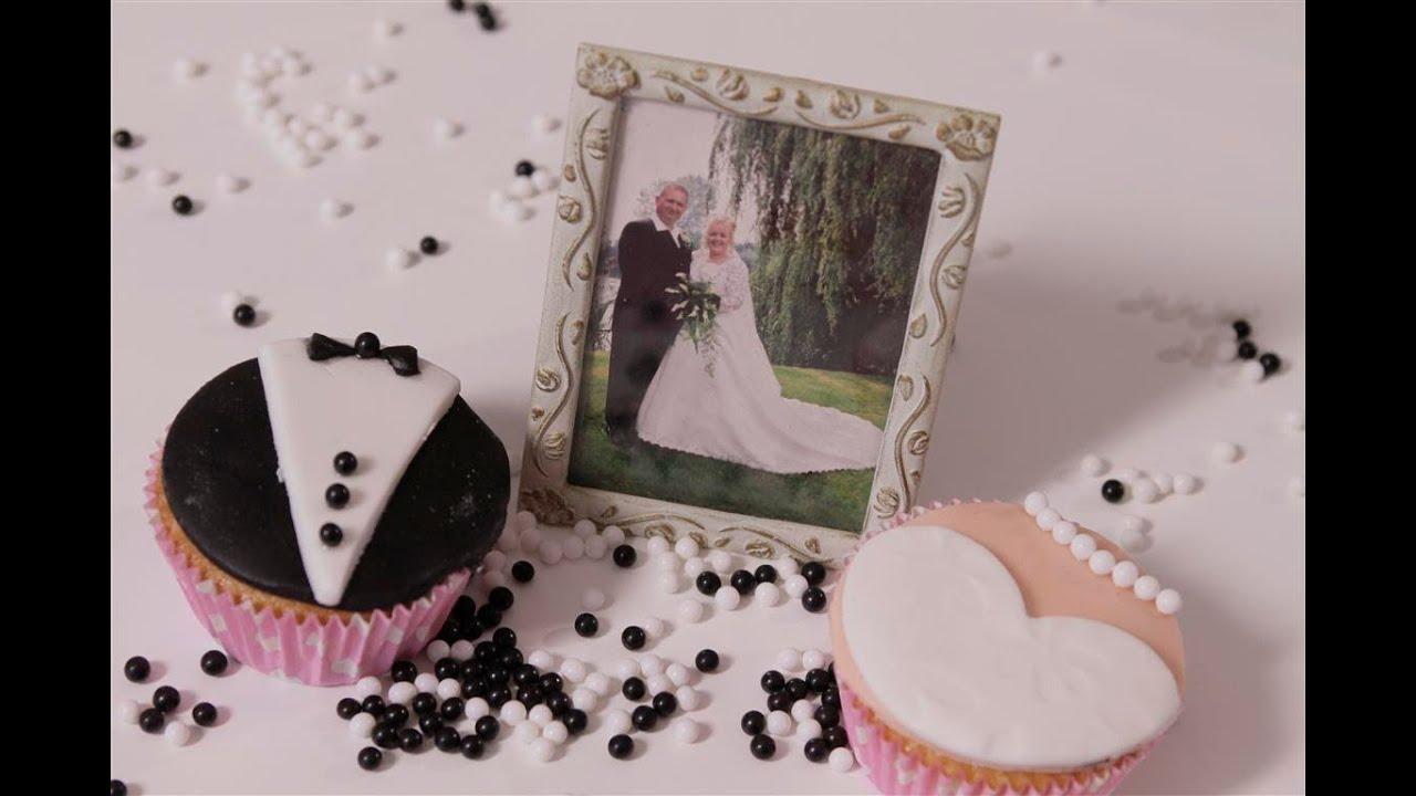 Cupcakes versieren voor een bruiloft wedding cupcakes for Bruiloft versiering zelf maken