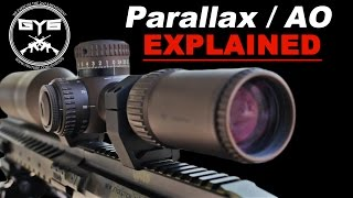 Scope Parallax Adjustment...WHAT IS IT?