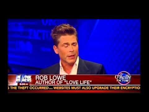 Bill O'Reilly Interviews Rob Lowe (04/09/2014)
