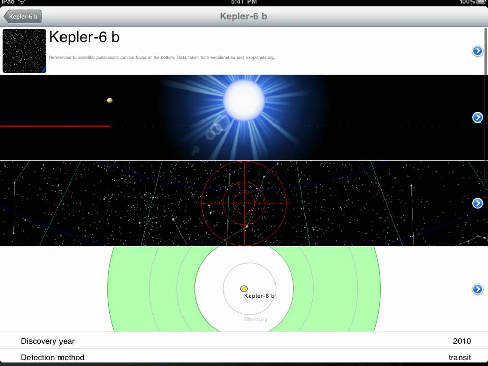 Exoplanet App Iphone Exoplanet App For Iphone Ipad Ipod Ipad Version
