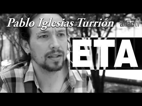 Pablo Iglesias los Etarras Deberían Ir Saliendo De La Cárcel video