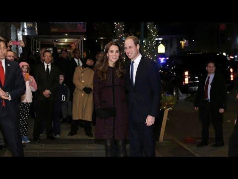 Duke and Duchess of Cambridge kick off New York visit