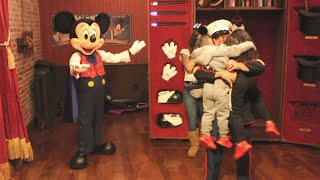 Mickey Mouse Magically Reunites 2 Kids With Military Dad