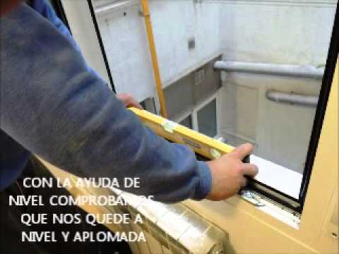 Como montar ventana de aluminio con persiana youtube - Percianas de aluminio ...