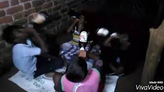 Real ghost caught on camera...|| Funny and horror || Directed by Srujan K || My Village Fun Bomb
