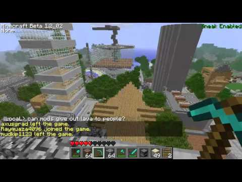 Minecraft Griefing - NoName City 1 (Reddit Episode 3)