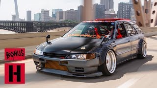 Honda Hot Rod - Part Accord, Part Nissan, a Tire-Slaying RWD Wagon