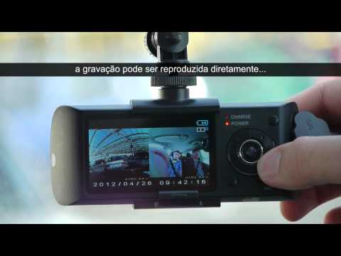 Câmara DVR Carro com GPS