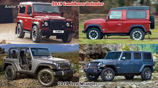 2018 Land Rover Defender VS 2018 Jeep Wrangler | SUV Auto Comparison