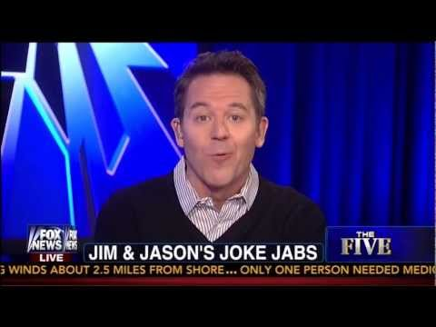 Jim Carrey Caves to Fox News in Response to Cold Dead Hands Video Coverage - The Five - 3-29-13