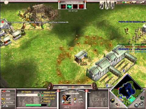 Age of Mythology The Titans x Hamachi: Hades & Odin VS Isis & Hades - Parte 3/4