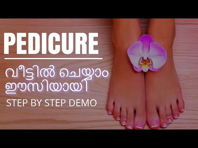 My home Pedicure routine