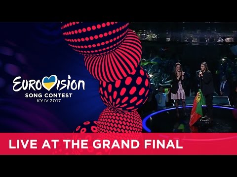 The winning performance of Salvador and Luísa Sobral from Portugal