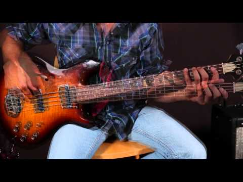 Easy Country Bassline Lesson - Bass Guitar Lessons - Johnny Cash Inspired video