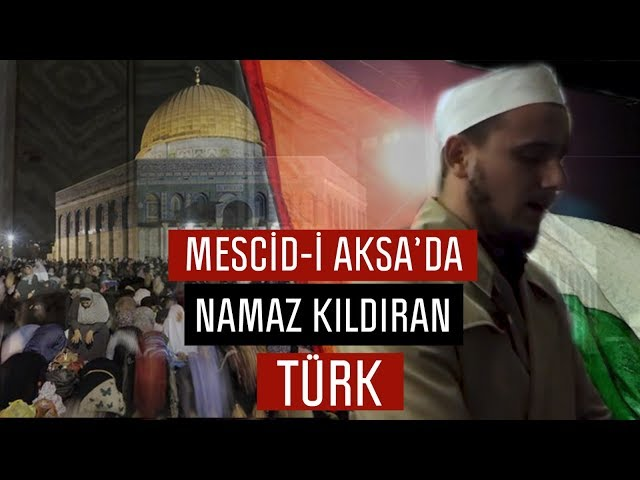 Mescid-i Aksada Namaz Kбldбran Trk аmam - Osman Bostancб