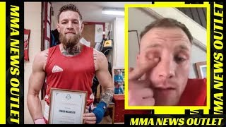 Conor Mcgregor's Recent Sparring Partner Claims He Sucker Punched Him + Whisky Sales|MMA NEWS OUTLET