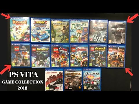 Ps vita Game Collection 2018: Sony playstation vita games: Sony vita games