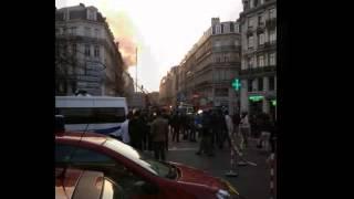 incendie rue Faidherbe LILLE le 21/03/2012