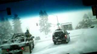 Snow driving, March 24, 2011