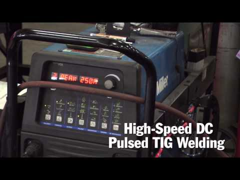TIG Welding Repair on Cast Stainless with Miller Dynasty TIG Inverters