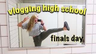 LAST DAY OF JUNIOR YEAR VLOG (FEAT. SCHOOL TOUR)