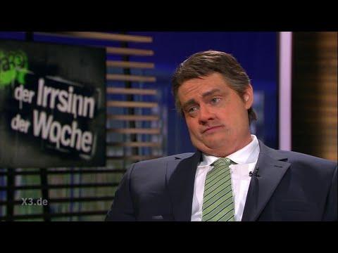 Christian Ehring im Gespräch mit Sigmar Gabriel (Thema: Desolater Zustand der SPD) | extra 3 | NDR