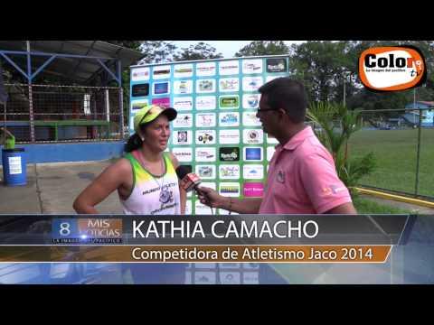 Atletismo II Juegos Cantonales Jaco 2014
