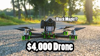 All about my giant cine-cam-carrying $4,000 X Class Performance Drone