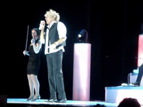 ROD STEWART live O2 29 MAY 2010 I WAS ONLY JOKING