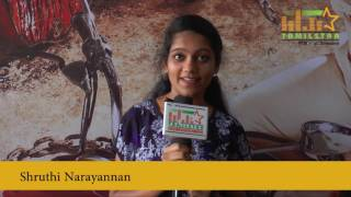 Shruthi Narayannan At Super Police Movie Audio Launch