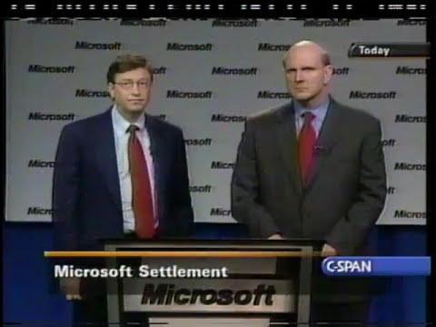 Bill Gates and Steve Ballmer on the Microsoft Antitrust Case (2001)