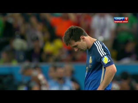 Lionel Messi vs Germany (World Cup Final 2014) (13/07/2014) HD 720p