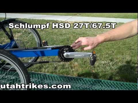 Schlumpf High Speed Drive (HSD) presented by Utah Trikes