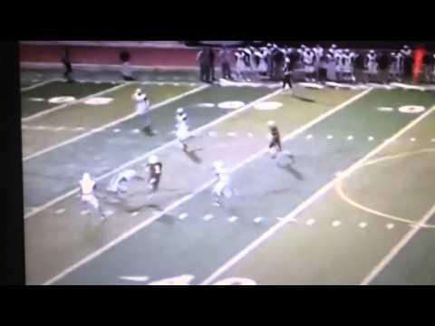 Tyreek Hill receiving touchdown, Garden City Community College (via Hudl)