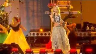 Shakira Video - Shakira - Hips Don't Lie Feat Tumi Molekane @ kick-off Concert Fifa World Cup South Africa