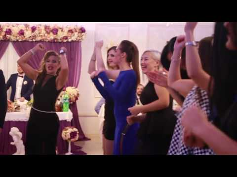 Ржачные танцы на свадьбе 2017 : Мальчики против девочек