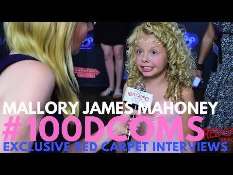 Mallory James Mahoney interviewed at the VIP Screening for