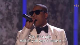 Alicia Keys Jay Z Empire State Of Mind Live 2009