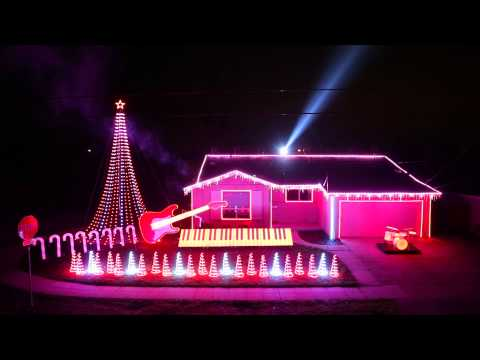 Best of Star Wars Music Light Show - Home featured on ABC's Great Christmas Light Fight!