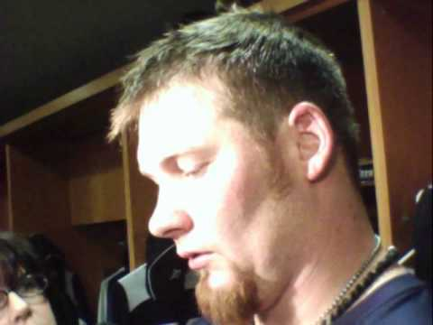 Phil Coke Detroit Tigers Reliever postgame v s  Seattle 4   24   2012