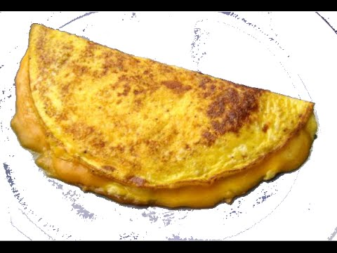 HOW TO MAKE A CHEESE OMELETTE - GregsKitchen