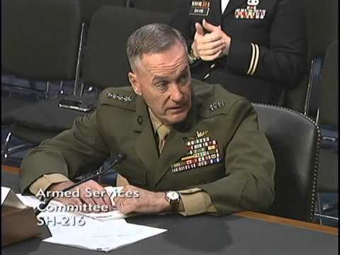 Sen. Ted Cruz Questions General Joseph F. Dunford, Jr., USMC at SASC Hearing