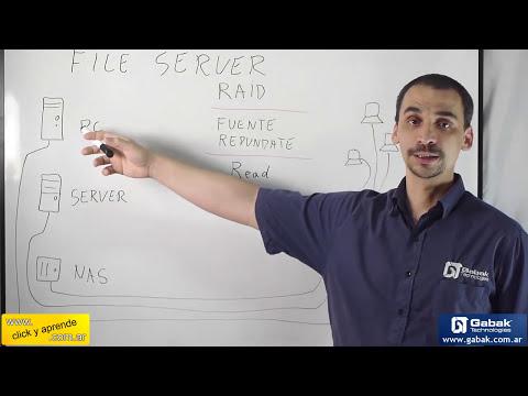 ¿que es un file server? o servidor de archivos y su funciones